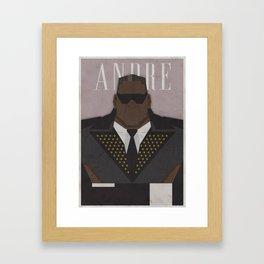 André Framed Art Print