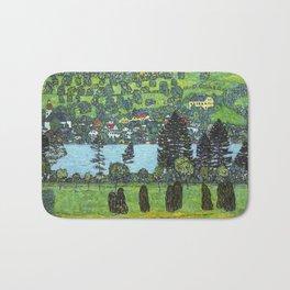 Gustav Klimt - Slope at Unterach Bath Mat