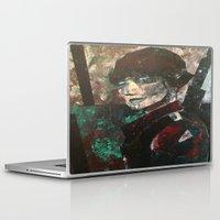 ryan gosling Laptop & iPad Skins featuring RYAN  by Matt Schiermeier