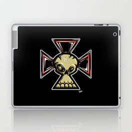 Skull Cross Laptop & iPad Skin