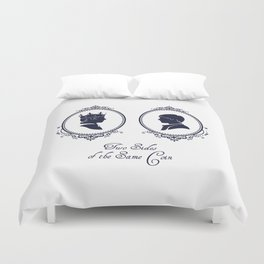 Two Sides of the Same Coin Duvet Cover