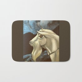 Night of The Billy Goat Bath Mat
