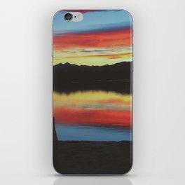 Colorado Skies and Drinks iPhone Skin