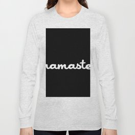 Namaste (Brush) Long Sleeve T-shirt