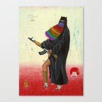 islam Canvas Prints featuring fancy islam by Robert Deutsch