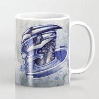 garrus Mugs featuring Archangel by Raenyras