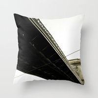 budapest Throw Pillows featuring Budapest by Javier Sánchez