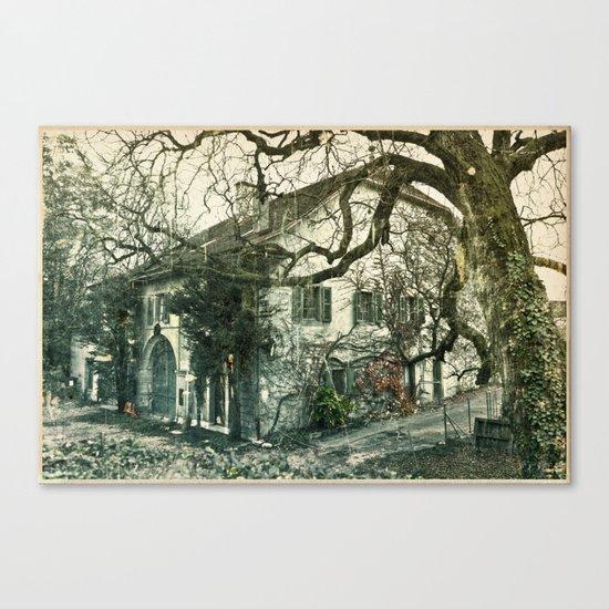 New Older House Nº1 Canvas Print