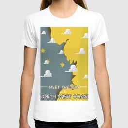 Meet the Sun on the North West Coast T-shirt