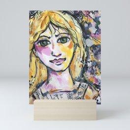 Do you want to share my world? Mini Art Print