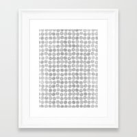 tree rings Framed Art Prints featuring Tree Rings by Andrew Stephens