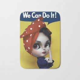 We Can Do It! Bath Mat