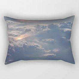 Looking Down from Heaven Rectangular Pillow