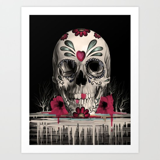 Pulled Sugar Art Print