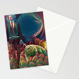 Microscopic Eye Stationery Cards