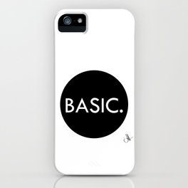 Basic iPhone Case