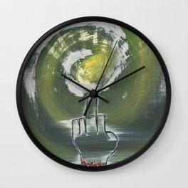 The Severed Birdie Wall Clock