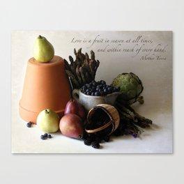 Fruit in Reach Canvas Print