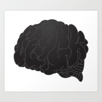 black.thought Art Print