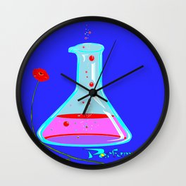 Making Perfume and Poppy Wall Clock