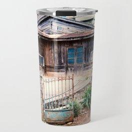 WOODEN HOUSE IN CAU DAT Travel Mug