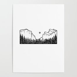 Premier paysage Poster