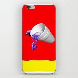 Champagne Papi lean iPhone Skin