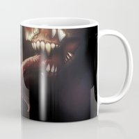 nightmare Mugs featuring Nightmare by Rudolf Odobasic