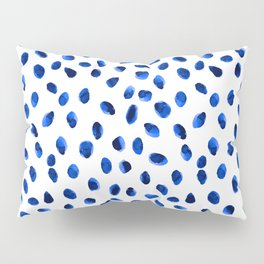 Seeing Blue Spots Pillow Sham