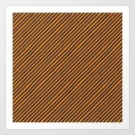 Bumble bee stripes Art Print