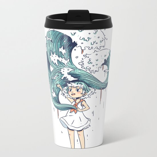 Daughter of the Sea Metal Travel Mug