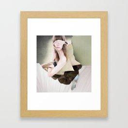 Blindly seeing Framed Art Print