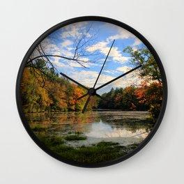 At the Pond Wall Clock