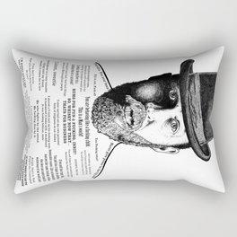 Peaky Blinders Tattoo Alfie Solomons Rectangular Pillow