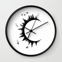 Wild Child C Wall Clock