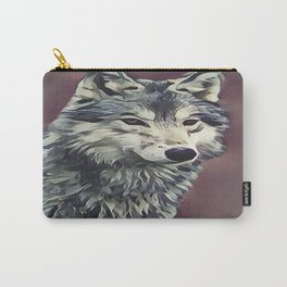 The Tundra Wolf Carry-All Pouch