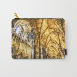 Southwark  Cathedral London Watercolor Carry-All Pouch