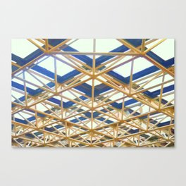 Decorated Concrete 005 Canvas Print