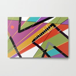 Colors tropic metal Metal Print
