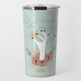 Leo Zodiac Series Travel Mug