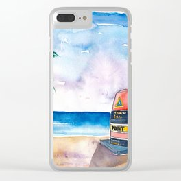 Key West Florida USA Southernmost Point of The USA Clear iPhone Case