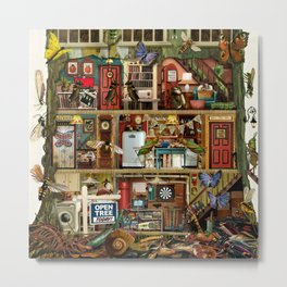 Bug House Metal Print