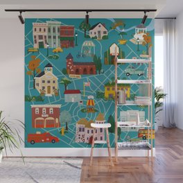 My Town Wall Mural