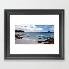 Port Uisken Framed Art Print