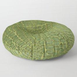 Alligator Skin Floor Pillow