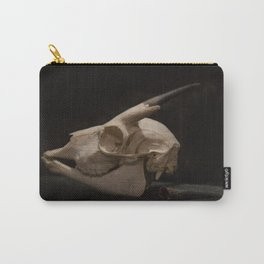 White Tail Deer Skull Carry-All Pouch