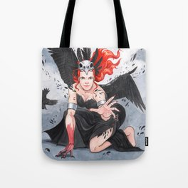 Transformation of The Morrigan Tote Bag