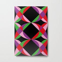 Eyes, Prisms, Colors. Metal Print