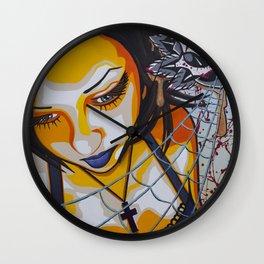 Entangled Wall Clock