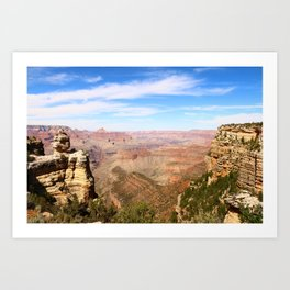 South Rim Grand Canyon Art Print